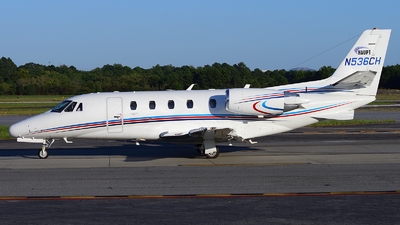 A picture of N536CH - Cessna 560XL Citation Excel - Delta Private Jets - © Agustin Anaya