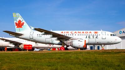 C-GBIK - Airbus A319-114 - Air Canada Jetz