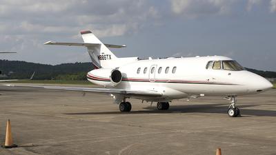 N686TX - Raytheon Hawker 800XP - Private