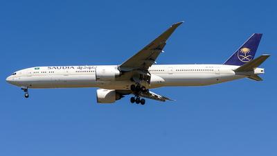 A picture of HZAK39 - Boeing 7773FG(ER) - Saudia - © Gabriel Melo