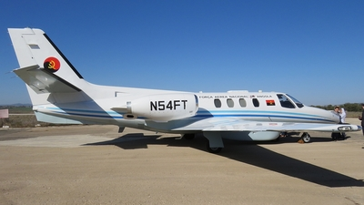 N54FT - Cessna 501 Citation - Angola - Air Force