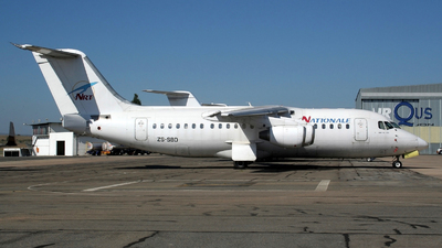 ZS-SBD - British Aerospace BAe 146-200A - Nationale et Regionale Transport