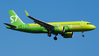VP-BVH - Airbus A320-271N - S7 Airlines