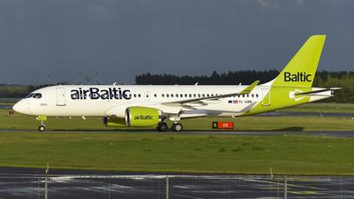 YL-ABB - Airbus A220-371 - Air Baltic