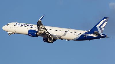 SX-NAC - Airbus A321-271NX - Aegean Airlines
