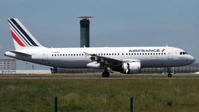 F-GKXK - Airbus A320-214 - Air France