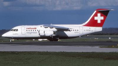 G-DEFM - British Aerospace BAe 146-200 - Swissair Express (Flightline)