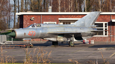 473 - Mikoyan-Gurevich MiG-21SPS Fishbed K - German Democratic Republic - Air Force