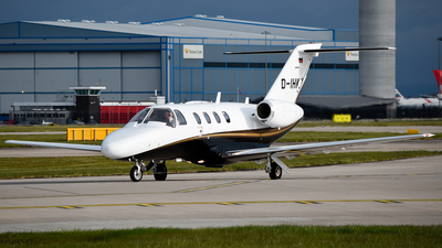D-IHKW - Cessna 525 CitationJet 1 Plus - Private