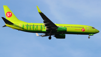 VQ-BVL - Boeing 737-8GJ - S7 Airlines