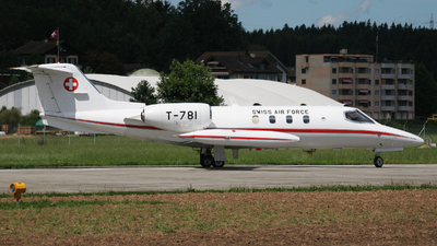 T-781 - Bombardier Learjet 35A - Switzerland - Air Force