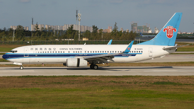 A picture of B5340 - Boeing 73781B - China Southern Airlines - © SEN BAI