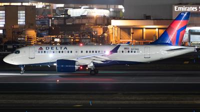 N111NG - Bombardier CSeries CS100  - Delta Air Lines