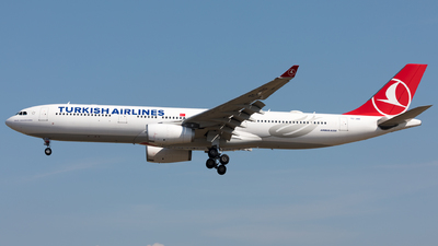 A picture of TCJNR - Airbus A330343 - Turkish Airlines - © Sierra Aviation Photography