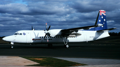 VH-FNA - Fokker 50 - SkyWest Airlines