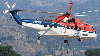 C-GJQN - Sikorsky S-61N - Canadian Helicopters