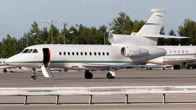 G-LCYA - Dassault Falcon 900EX - Private