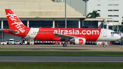A picture of HSBBS - Airbus A320216 - AirAsia - © SOMPOL JUNLAMART