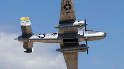 N27493 - North American B-25J Mitchell - Commemorative Air Force