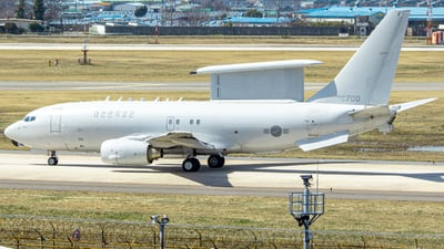 64-700 - Boeing 737-7ES Peace Eye - South Korea - Air Force