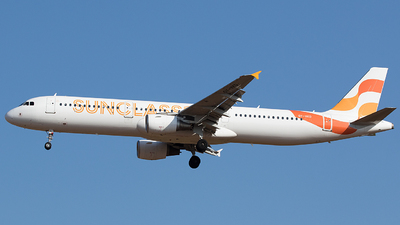 A picture of OYVKD - Airbus A321211 - Sunclass Airlines - © BennyH