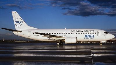 4L-AAA - Boeing 737-375 - Georgian Airways