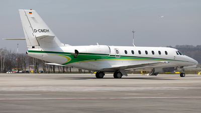 D-CMDH - Cessna 680 Citation Sovereign - E-Aviation