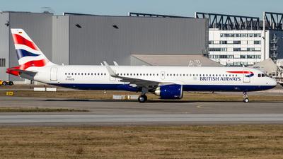 D-AVZB - Airbus A321-251NX - British Airways