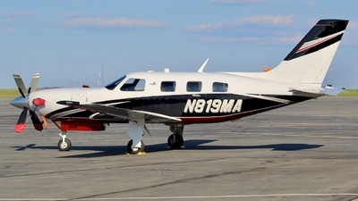 N819MA - Piper PA-46-M500 - Private