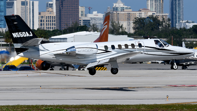 N550AJ - Cessna S550 Citation SII - Private