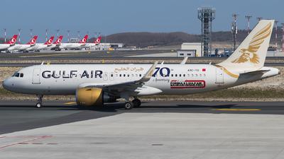 A9C-TD - Airbus A320-251N - Gulf Air