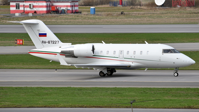 RA-67227 - Bombardier CL-600-2B16 Challenger 605 - Ak Bars Aero