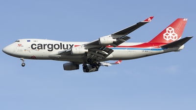 A picture of LXWCV - Boeing 7474R7(F) - Cargolux - © Indy Udol