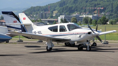HB-NDL - Rockwell Commander 112B - Private