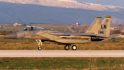 86-0166 - McDonnell Douglas F-15C Eagle - United States - US Air Force (USAF)