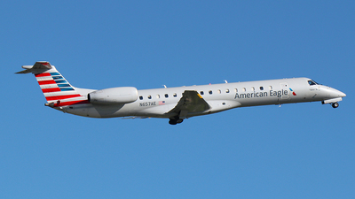 A picture of N657AE - Embraer ERJ145LR - American Airlines - © SEN BAI