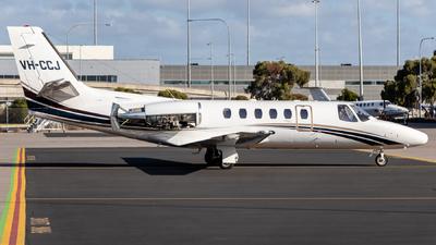 VH-CCJ - Cessna 550B Citation Bravo - Private