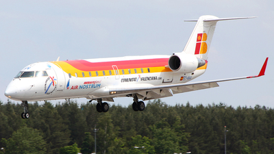 EC-HHV - Bombardier CRJ-100LR - Iberia Regional (Air Nostrum)