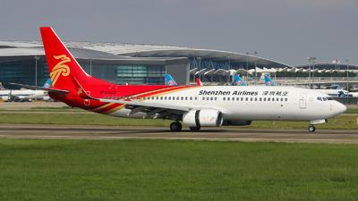B-5322 - Boeing 737-86N - Shenzhen Airlines