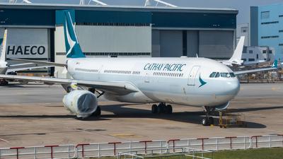 B-LBG - Airbus A330-343 - Cathay Pacific Airways