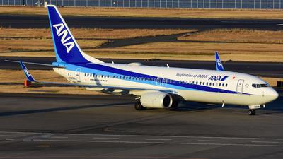 A picture of JA90AN - Boeing 7378AL - All Nippon Airways - © samuelau