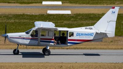 VH-FGN - Gippsland GA-8 Airvan - Skydive Geronimo