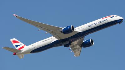 G-XWBH - Airbus A350-1041 - British Airways