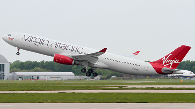 G-VKSS - Airbus A330-343 - Virgin Atlantic Airways