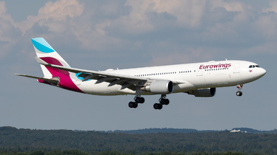 D-AXGB - Airbus A330-203 - Eurowings (SunExpress Germany)