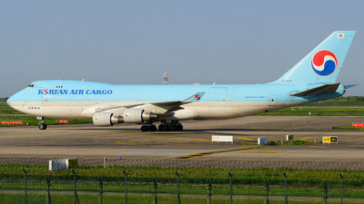 A picture of HL7603 - Boeing 7474B5F(ER) - Korean Air - © songxiuming