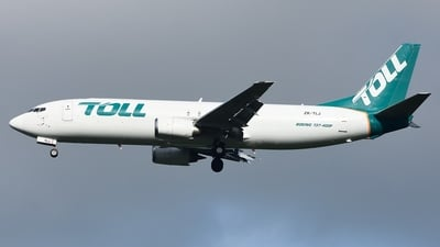 ZK-TLJ - Boeing 737-476(SF) - Airwork New Zealand