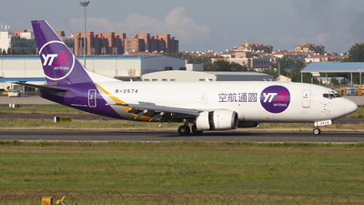 B-2574 - Boeing 737-37K(SF) - YTO Cargo Airlines