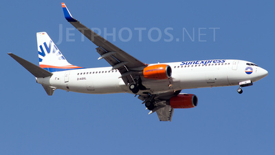 A picture of DASXL - Boeing 7378EH - [35835] - © Bora Polater