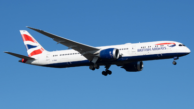 G-ZBKK - Boeing 787-9 Dreamliner - British Airways